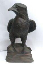 Vintage Bronze Maltese Falcon Statue