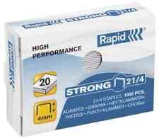 [Ref:24863400] RAPID Bte 1000 agrafes Strong 21/4 galvanisé