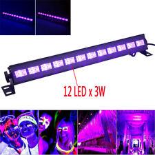 12LED 36W UV BAR LED Schwarzlicht Leiste Party Bühnenlicht Washer Klublampe CR-6