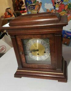 Howard Miller 612-436 Thomas Tompion - Triple Chime Mantle Clock Vintage NO KEY