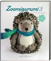 Zoomigurumi 3 15 Cute Amigurumi Crochet Patterns (Paperback) hedgehog,fox,lamb..