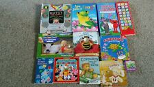 Lot of 11 Preschool Toddler Board Books Corduroy Blues clues Counting Disney &