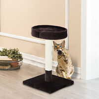 PawHut Kitten Cat Tree Scratching Post Scratcher Activity Center Bed Play w/ Toy