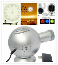 4th Gen Analog Projection Wall Clock BELL w/ LED Based Projector Cold Light 110v