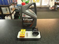 TOYOTA AYGO 1.0 SERVICE KIT OIL AIR FILTERS SPARK PLUGS 5 LITRES OIL COMMA XFLOW