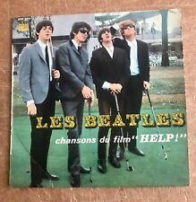 "LES BEATLES - CHANSONS DU FILM ""HELP"" - FRENCH PRESSING EP -  ODEON SOE 3771!!"