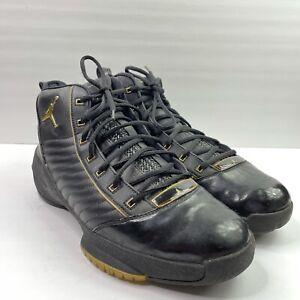 Air Jordan XIX SE 19 Black Gold 2004 Metallic Special Edition OG Men's Size 12
