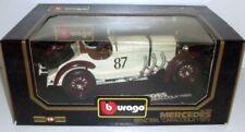 Voitures, camions et fourgons miniatures blancs Burago pour Mercedes