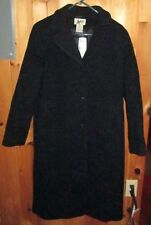 L.L.Bean Women's Wool Long Coat - Size 10 Regular