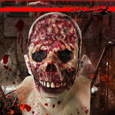 Halloween Zombie Mask Creepy Scary Latex Costume Mask Party Horror Props Cosplay
