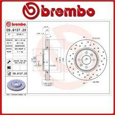 09.8137.2X#68 DISCO FRENO ANTERIORE SPORTIVO BREMBO XTRA RENAULT MEGANE II (BM0/
