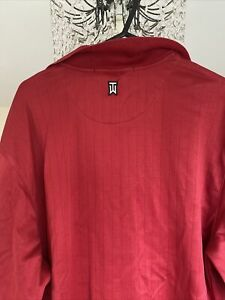Nike Tiger Woods PoloShirt (Red) - Large