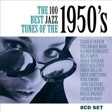 VARIOUS ARTISTS - THE 100 BEST JAZZ TUNES OF THE 1950'S NEW CD