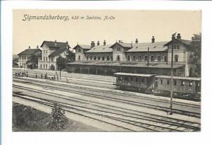 XX14115/ Sigmundsherberg N.-Ö.  Bahnhof AK 1913