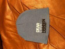 Dear Evan Hansen Broadway nyc Blue beanie Hat