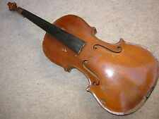 "Interesting old 4/4   Violin violon "" Frantisek L. Duchon, Nachod 192?"""