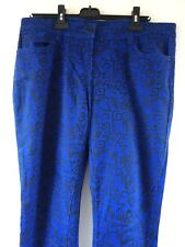 788922039c0 Size 16 Asda George super skinny jeans blue patterned - Very Good condition