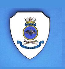 HMAS VAMPIRE ROYAL AUSTRALIAN NAVY WALL SHIELD IMAGE BLURED TO STOP WEB THEFT
