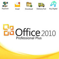 Office Professional Plus 2010 Code Activation For 1 PC Digital Genuine