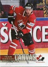 17/18 UPPER DECK CANADIAN TIRE TEAM CANADA CANVAS #TCC-4 TAYLOR HALL *47424