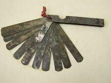 antique Jauge d'epaisseur Gabarit d'espacement Enseigner le capteur d'épaisseur