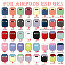 Rubber Airpod Holder Cover Case Shockproof  For Apple AirPods 1st/2nd Generation