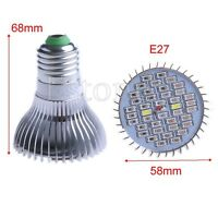 18/28/40LED Grow Light E27 E14 GU10 Lamp Bulb for Plant Hydroponic Full Spectrum