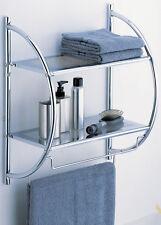 Organize It All 2-Tier Shelf with Towel Bars