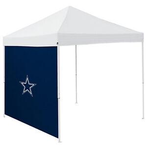 Dallas Tent Side Panel Cowboys Logo NFL Logo Brand 9' Canopy Shelter Heavy Duty