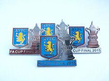 Aston Villa 2015 Cup Final Day Pin Badge - Football Badge