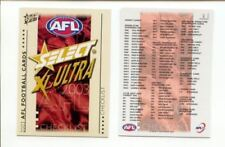 Checklist Set AFL & Australian Rules Football Trading Cards