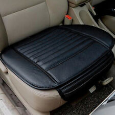 6 Colors PU Bamboo Charcoal Car Seat Cushion Cover Pad Mat Protector Pockets New