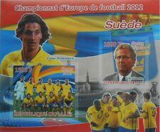 Football Team 2012 Sweden Z. Ibrahimovic E. Hamren Mali s/s IMPERF #P225
