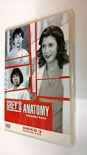 Grey's Anatomy DVD Serie Televisiva Stagione 2 Volume 3 - Episodi 4
