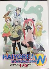 DVD Japan Anime Haiyore! Nyaruko-San W ( Eps. 1-12 End ) English Subtitle