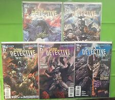 DETECTIVE COMICS NeW 52! #s 1,2,3,4 & 5 (VF)•1st Prints•First Appear DOLLMAKER•