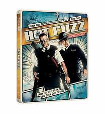 Hot Fuzz Steelbook Limited Edition Blu-ray, Digital Copy + Ultraviolet Brand New