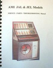 ROWE AMI JAL & JEL Models jukebox manual
