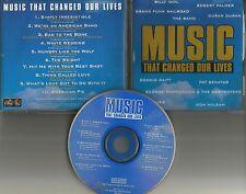PROMO CD DURAN DURAN Billy idol TINA TURNER Robert Palmer THE BAND Pat Benatar