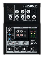 Mackie Mix5 - Studio 5-Channel Compact Mixer