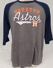 Brand New Houston Astros MLB 3/4 Sleeve Shirt Genuine Merchandise