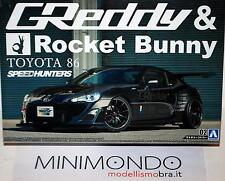 KIT TOYOTA 86 GREDDY & ROCKET BUNNY SCION FR-S GT86 1/24 AOSHIMA 05094 050941