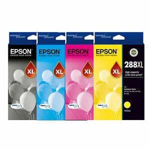 Genuine Original Epson 288XL High Yield Ink Cartridge / Tri-Colour / Value Pack
