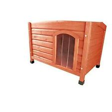 Pet Products Plastic Door for Flat Roof Dog House, X-Large, Clear Plastic,