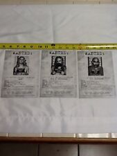 Devils Rejects 5x7 Lobby Wanted Cards 2005  Baby, Otis, Capt. Spaulding (P00002)