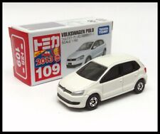 TOMICA 109 VW VOLKSWAGEN POLO 1/62 TOMY 2013 NEW MODEL WHITE First edition
