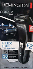 Remington F2 Power Series Men's Electric Shaver with Flex Foil Technology, Black