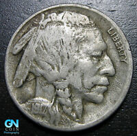 1917 D Buffalo Nickel  --  MAKE US AN OFFER!  #B0740