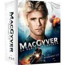 Dvd MACGYVER - Série Complet - Saison 1-2-3-4-5-6-7 (Boîte 38 Disques) NOUVEAU