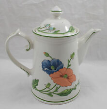 Villeroy & and Boch AMAPOLA coffee pot with lid - excellent